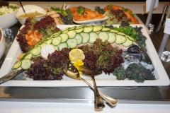Tapas buffet fisk