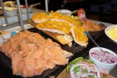Tapas buffet laks